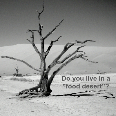 "Do you live in a ""food desert""?"